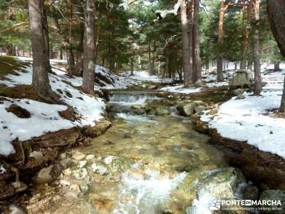 Siete Picos - Valle la Fuenfría; ruta senderismo madrid; ruta por madrid